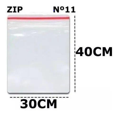 SACO ZIP N 11 30x40 C/100 UN
