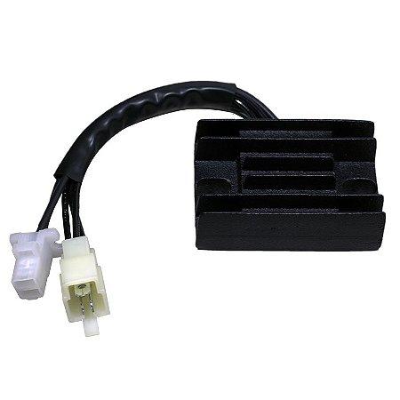 Regulador Retificador de Voltagem Intruder 125 03-07 Chiaratto