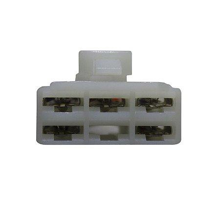 Conector Regulador Retificador Xtz 250 Lander 07-16