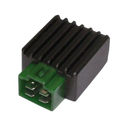 Regulador Retificador de Voltagem YBR 125 Factor 00-13 Chiaratto