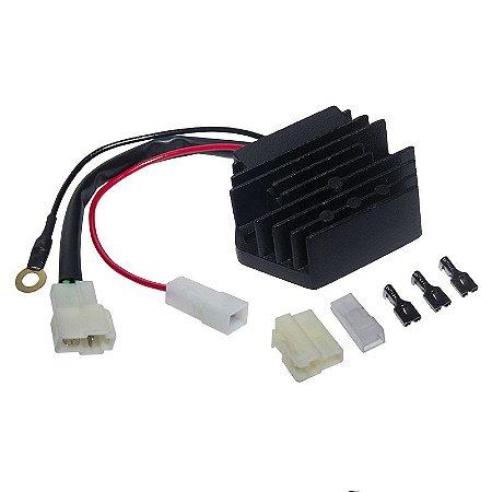 Regulador Retificador de Voltagem Branco BD 5 7 10 13 18 22 12802260 Chiaratto