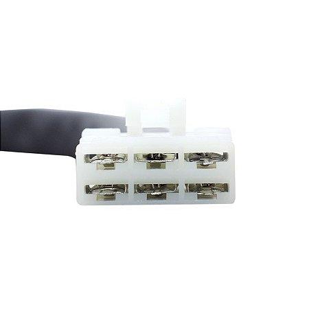 Conector Regulador Retificador de Voltagem Vulcan 1500 VN 96-04 Chiaratto
