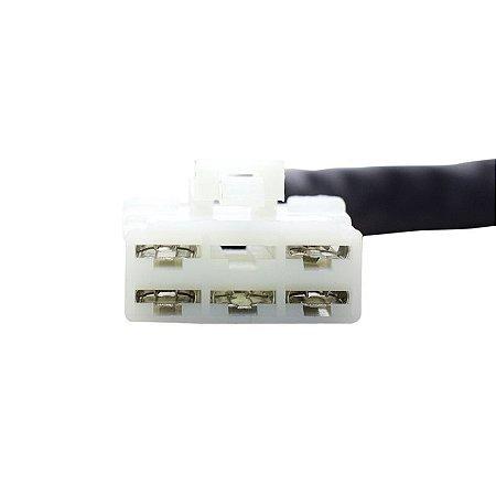 Conector Regulador Retificador de Voltagem Hayabusa Intruder LC 1500 99-05  Chiaratto