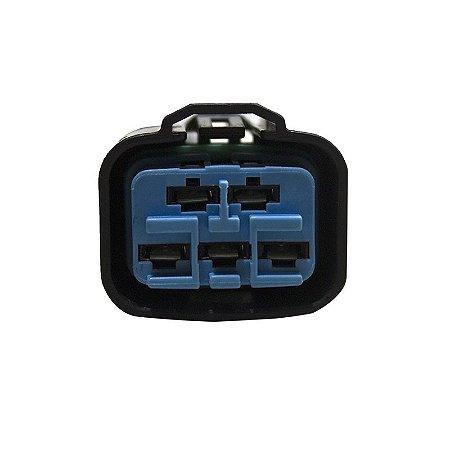 Conector Regulador Retificador de Voltagem CBX 250 Twister 01-08 Chiaratto
