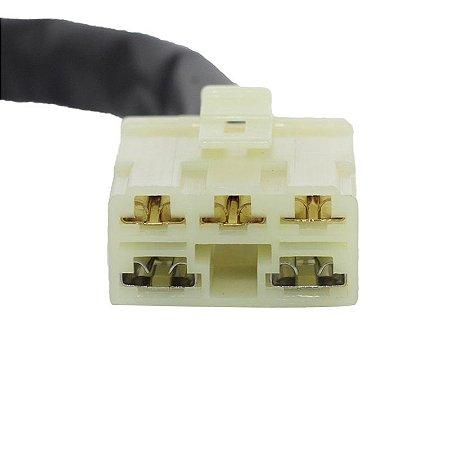 Conector Regulador Retificador de Voltagem CBR 450 SR  87-95 Chiaratto