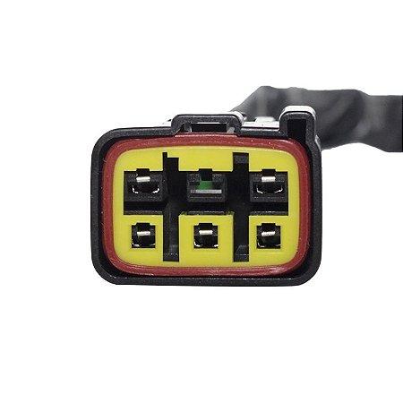 Conector Regulador Retificador de Voltagem KingQuad 500 09-14 Chiaratto