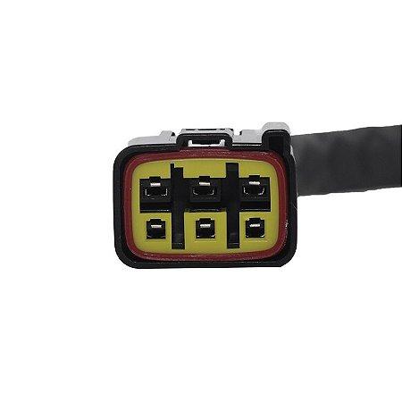 Conector Regulador Retificador de Voltagem Vulcan 900 09-15 Chiaratto