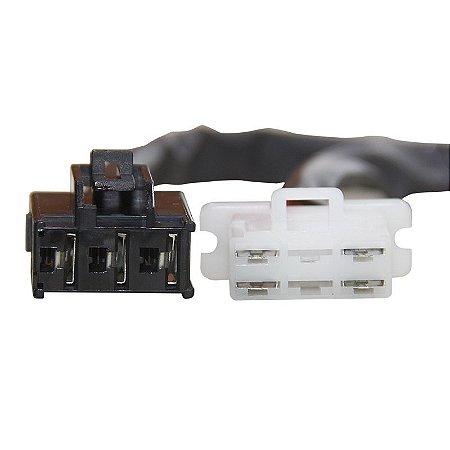 Conector Regulador Retificador de Voltagem CBR 600 F 01-06 Chiaratto