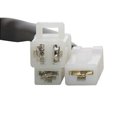 Conector Regulador Retificador de Voltagem Virago XV 1100 94-98 Chiaratto