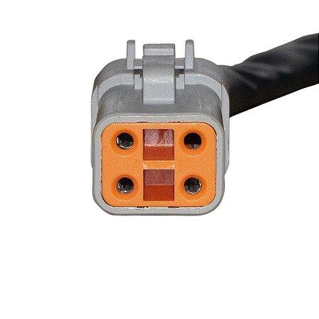 Conector Regulador Retificador de Voltagem Softail Fat Boy 01-06 Chiaratto