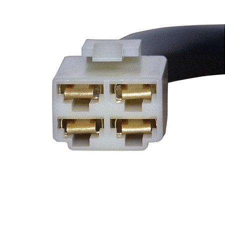 Conector Regulador Retificador de Voltagem Mirage 150 Chiaratto