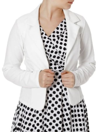 Blazer Feminino Autentique Off White