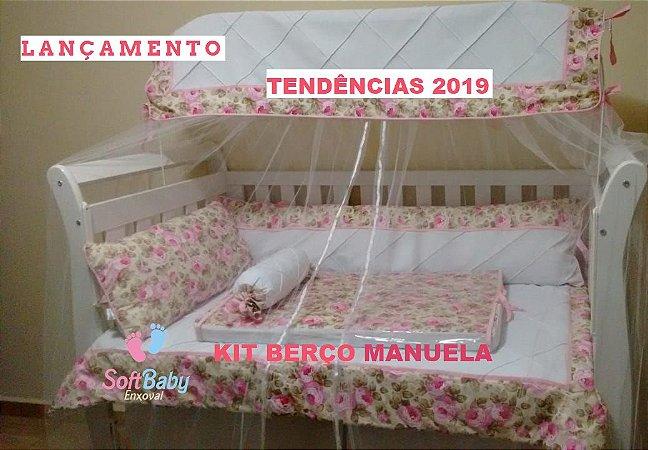 Kit Berço Manuela 5 peças
