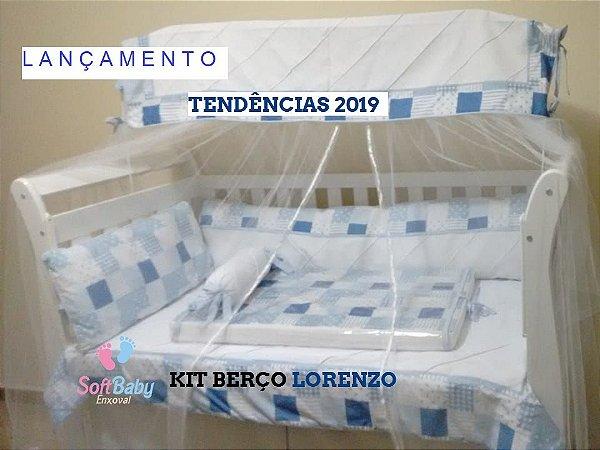 kit Berço Lorenzo 5 pecas