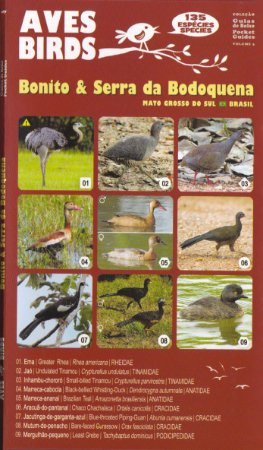 Guia de Bolso Aves de Bonito & Serra da Bodoquena