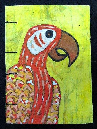 Caderneta Arara-Vermelha 1 - Batik