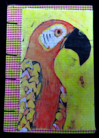 Caderneta Arara-Vermelha 2 - Batik