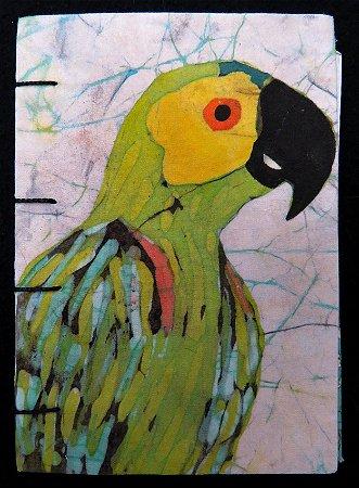 Caderneta Papagaio-Verdadeiro 1 - Batik