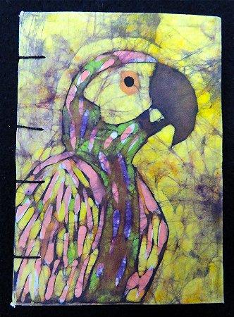 Caderneta Papagaio-Verdadeiro 2 - Batik
