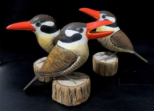 Miniatura madeira João-Bobo