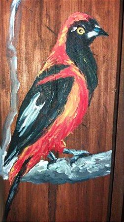 Taco de madeira - João-pinto