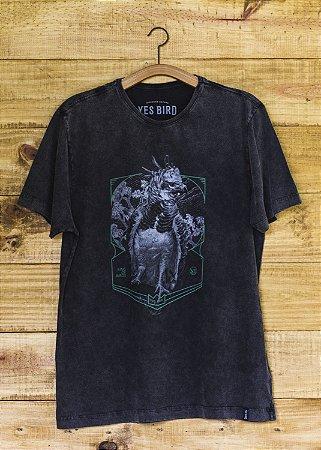 Camiseta Masculina Harpia - Grafite Estonado