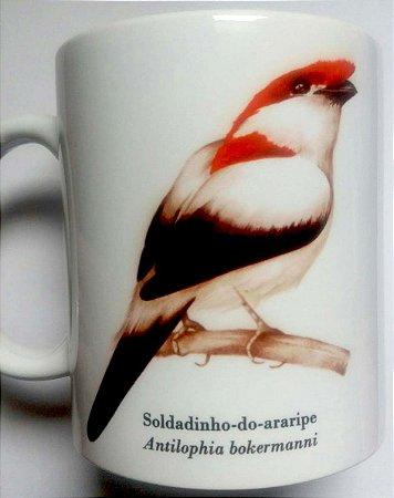 Caneca de Porcelana - Soldadinho-do-Araripe