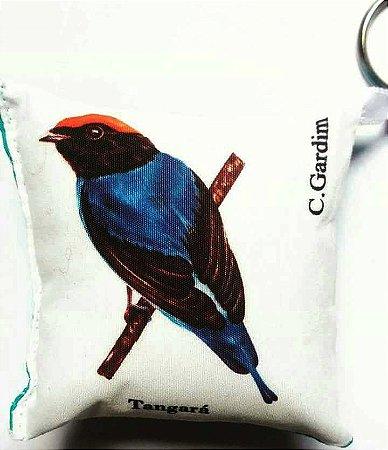 Chaveiro de tecido Tangará