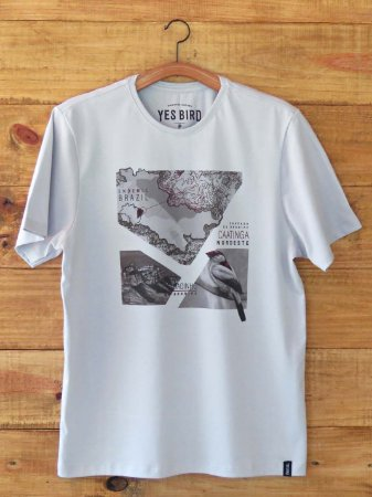 Camiseta Masculina Soldadinho do Araripe - Cinza
