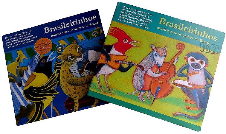 CD BRASILEIRINHOS VOL. 1 e 2 COM DESCONTO!