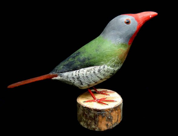 Miniatura madeira ave 3