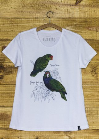 Camiseta Papagaios - Branco - Yes Bird