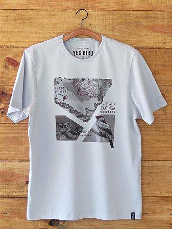 Camiseta Soldadinho do Araripe - Cinza - Yes Bird