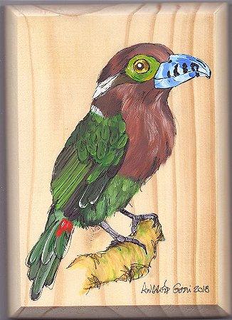 Arte em Madeira - Araçari-poca