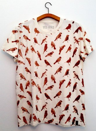 Camiseta Camuflada Caboclinhos Off White - Yes Bird
