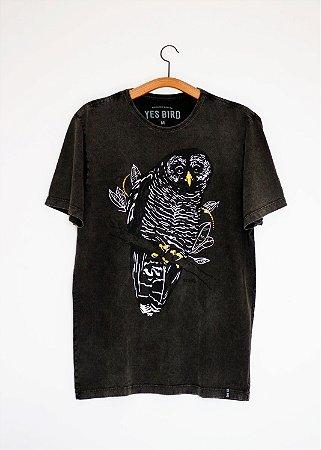 Camiseta Coruja-preta - Yes Bird