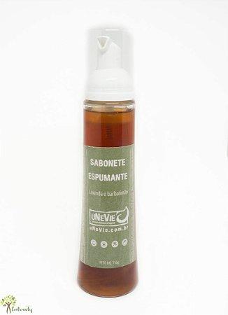 Sabonete Espumante Íntimo  Natural e Vegano 150g Unevie