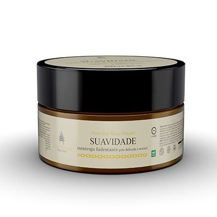Manteiga Hidratante Corporal e Capilar Pracaxi Suavidade 250g AhoAloe