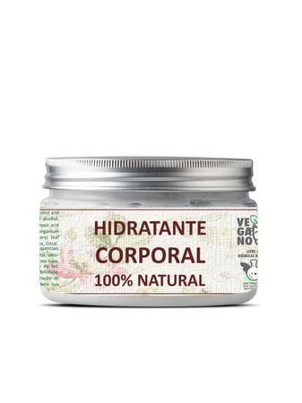 Manteiga Hidratante Corporal Natural e Vegana 160g Bhava