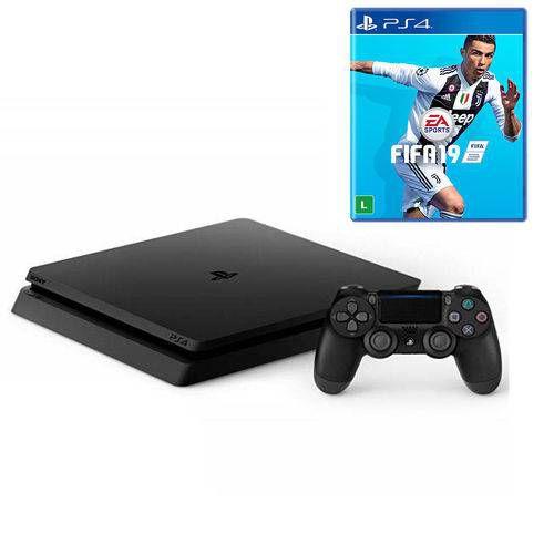 Playstation 4 Slim 1TB  com FIFA 19