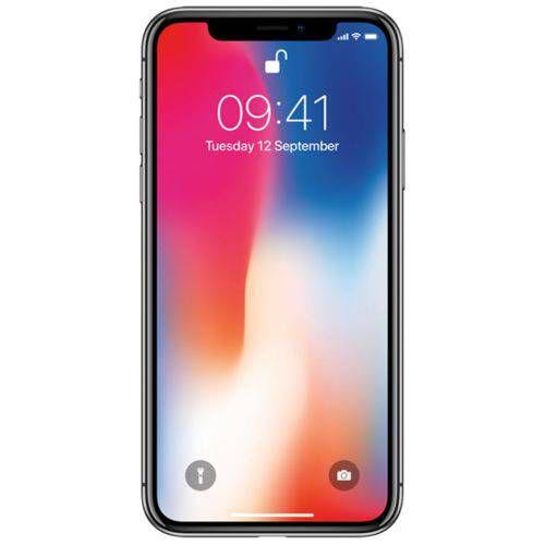 Iphone X 64GB Cinza Espacial