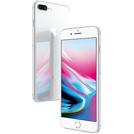 "iPhone 8 Plus Prata 256GB Tela 4.7"" IOS 11 4G Wi-Fi Câmera 12MP - Apple"
