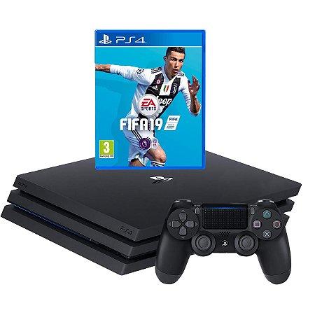 Playstation 4 Pro Ps4 1tb 4k + Fifa 19