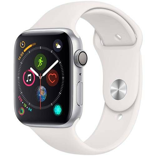 Apple Watch S4  GPS 40MM Silver Sports Band