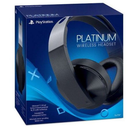 Headset Wireles Platinum PS4