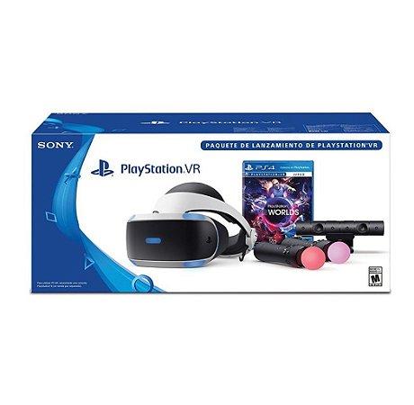 Playstation VR Bundle VR Worlds Edition