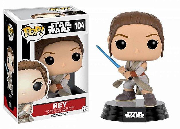 Funko Pop Star Wars The Force Awakens Rey 104
