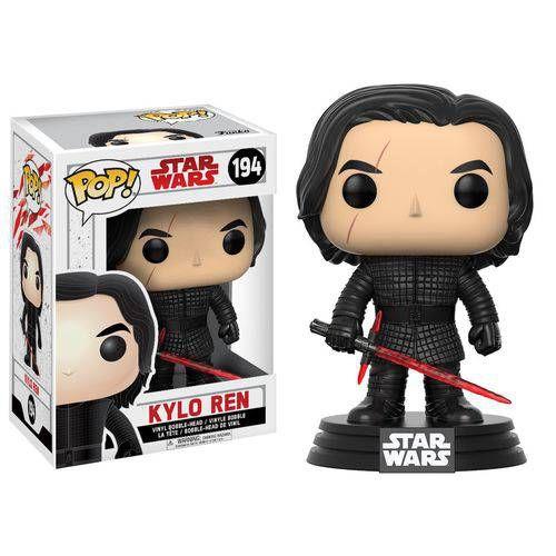 Boneco Funko Pop Star Wars The Last Jedi - Kylo Ren