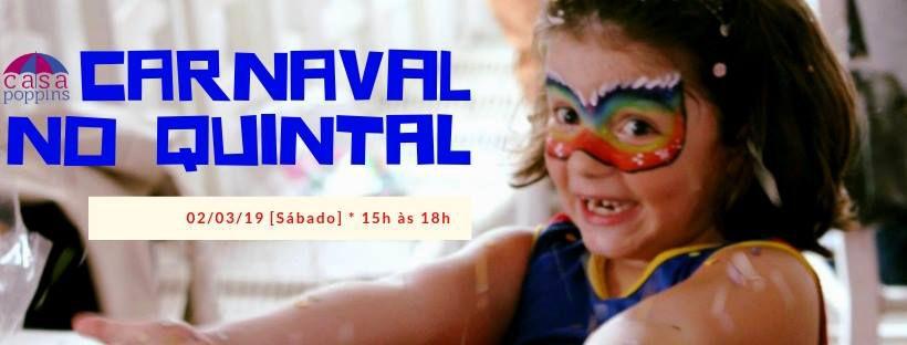 CARNAVAL NO QUINTAL - 2019