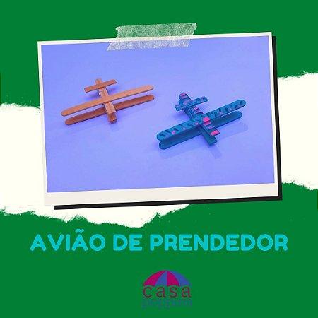 Avião Prendedor